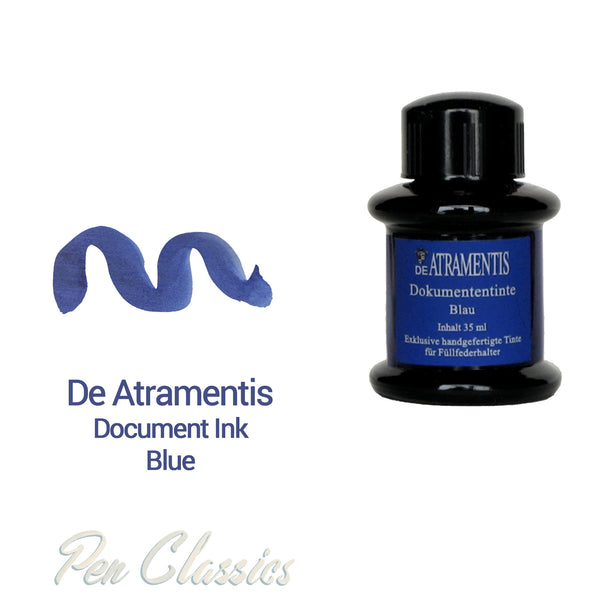 De Atramentis Document Ink Blue 35ml