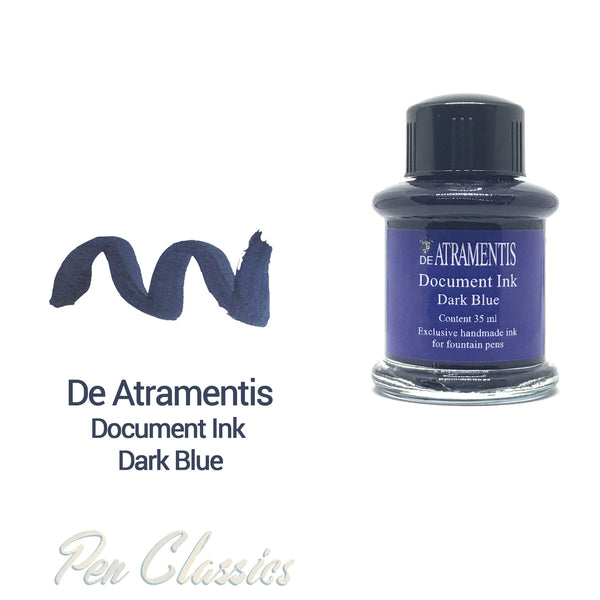 De Atramentis Document Ink Dark Blue 35ml