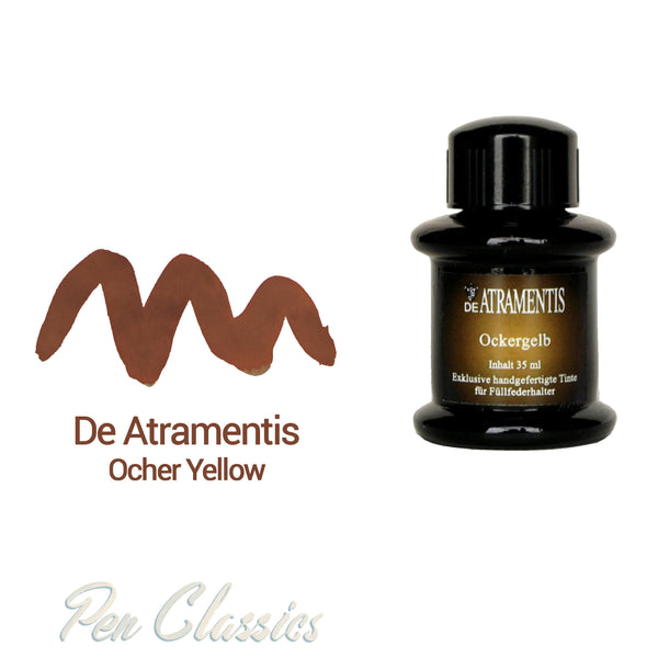 De Atramentis Ocher Yellow 35ml