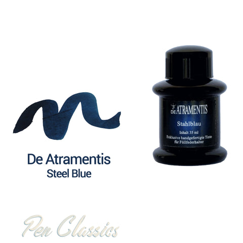 De Atramentis Steel Blue 35ml