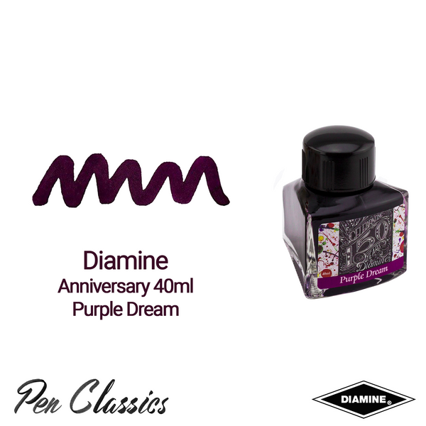 Diamine Anniversary 40ml Purple Dream