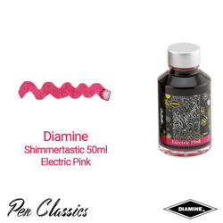 Diamine Shimmertastic Electric Pink 50ml