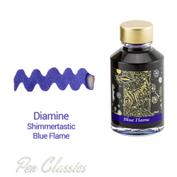 Diamine Shimmertastic Blue Flame 50ml