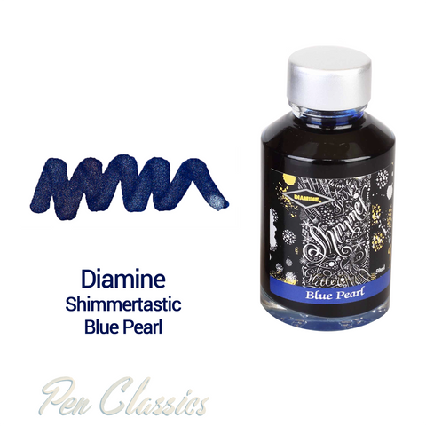 Diamine Shimmertastic Blue Pearl 50ml