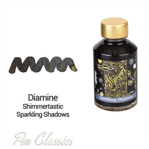 Diamine Shimmertastic Sparkling Shadows 50ml
