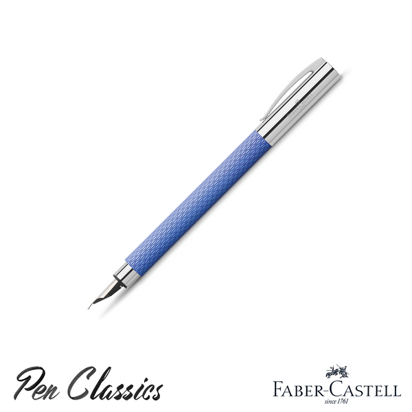 Faber-Castell Ambition Fountain Pen Op Art Blue Lagoon