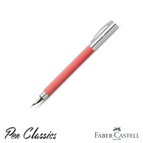 Faber-Castell Ambition Fountain Pen Op Art Flamingo.png