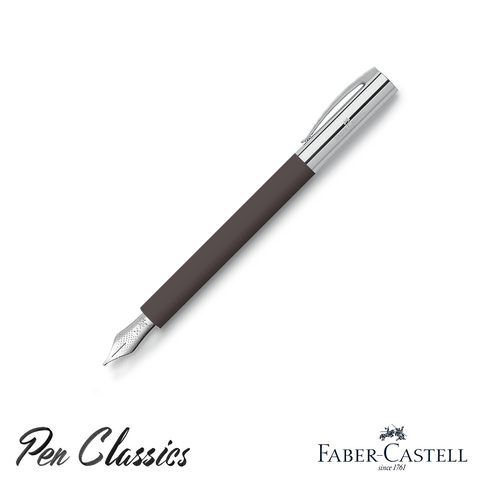 Faber-Castell Ambition Fountain Pen Precious Resin Cap Posted