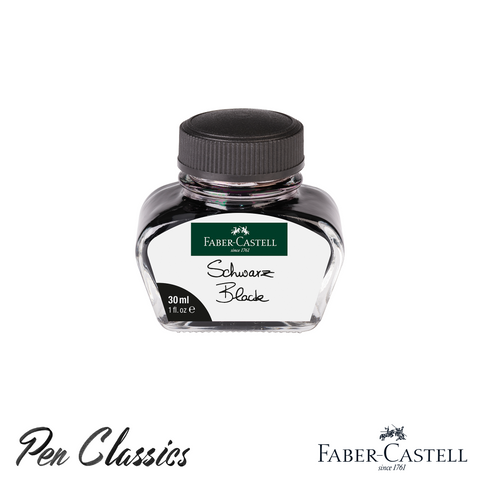 Faber-Castell Black 30ml Ink Bottle