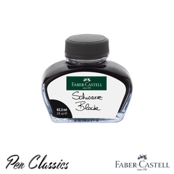 Faber-Castell Black 62.5ml Ink Bottle