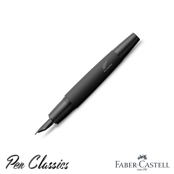 Faber-Castell e-motion Fountain Pen All Blacks SE