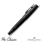 Faber-Castell e-motion Fountain Pen All Blacks SE Capped