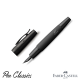 Faber-Castell e-motion Fountain Pen All Blacks SE With Cap
