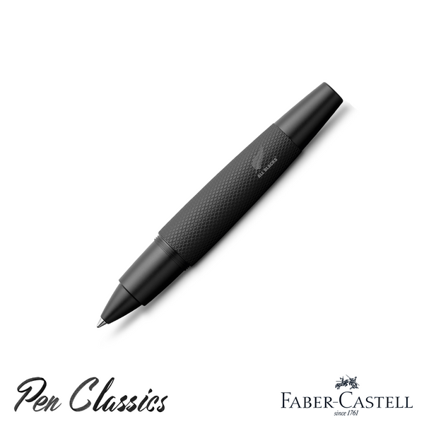 Faber-Castell e-motion Rollerball Pen All Blacks SE
