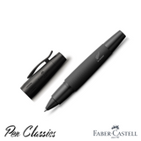 Faber-Castell e-motion Rollerball Pen All Blacks SE With Cap