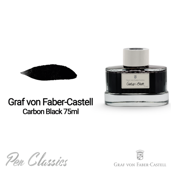 Graf von Faber-Castell Carbon Black 75ml Bottle