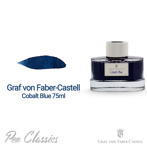 Graf von Faber-Castell Cobalt Blue 75ml Bottle
