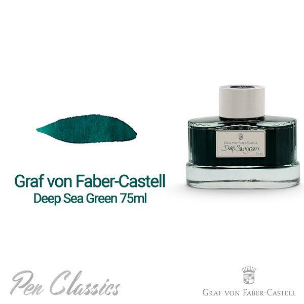 Graf von Faber-Castell Deep Sea Green 75ml Bottle