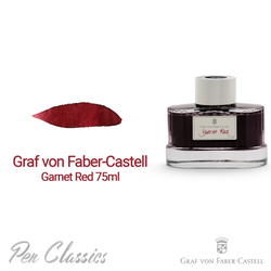 Graf von Faber-Castell Garnet Red 75ml Bottle