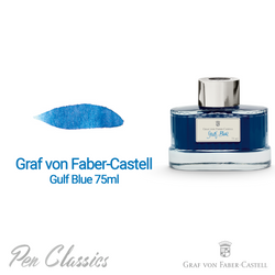 Graf von Faber-Castell Gulf Blue 75ml Swab and Bottle