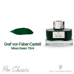 Graf von Faber-Castell Moss Green 75ml Swab and Bottle