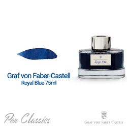 Graf von Faber-Castell Royal Blue 75ml Swab and Bottle