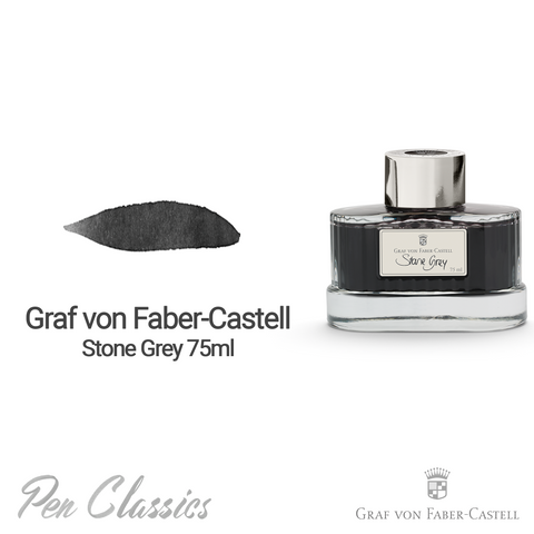 Graf von Faber-Castell Stone Grey 75ml Swab and Bottle