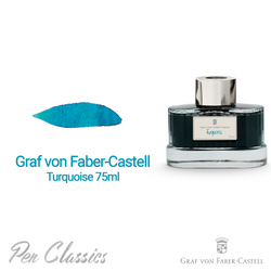 Graf von Faber-Castell Turquoise 75ml Swab and Bottle