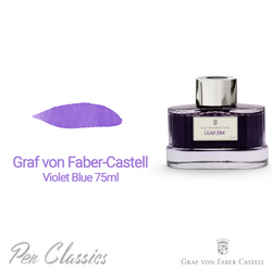 Graf von Faber-Castell Violet Blue 75ml Swab and Bottle