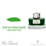 Graf von Faber-Castell Viper Green 75ml Swab and Bottle