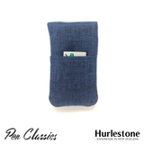 Hurlestone 2 Pen Pouch Navy Closed Back with Cartridges