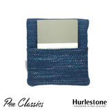 Hurlestone 4 Pen Pouch Seaweave Closed Back with Notebook