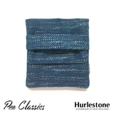 Hurlestone 4 Pen Pouch Seaweave Closed Front
