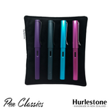 Hurlestone Large Velvet Pen Pillow Black with Pens