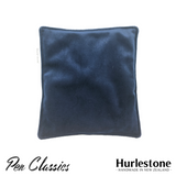 Hurlestone Large Velvet Pen Pillow Navy