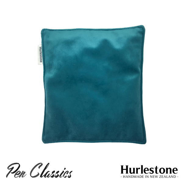 Hurlestone Large Velvet Pen Pillow Turquoise