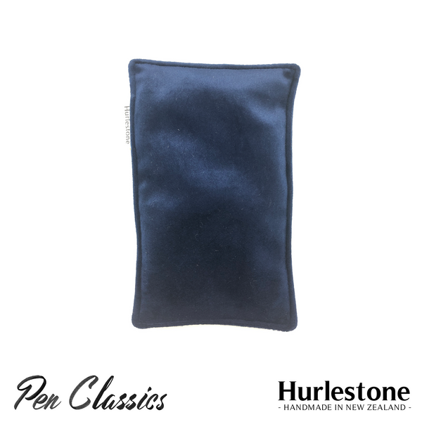 Hurlestone Small Velvet Pen Pillow Navy