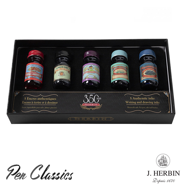 J. Herbin 350th Anniversary Sampler Set