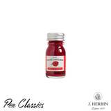 J. Herbin Rouge Caroubier 10ml Bottle