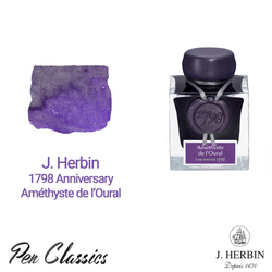 J. Herbin 1798 Amethyste de l'Oural | Purple Ink with Silver Flakes