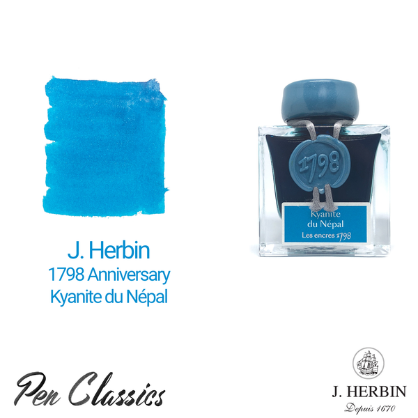 Jacques Herbin 1798 Anniversary Kyanite du Népal Swab and Bottle