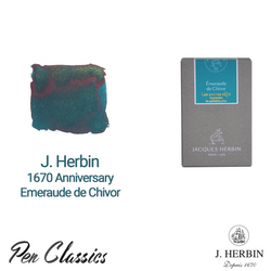 Jacques Herbin 1670 Anniversary Emerald of Chivor