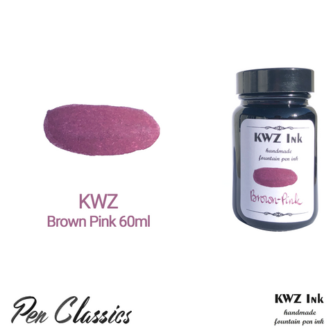 KWZ Brown Pink 60ml Bottle and Swab Web Upload