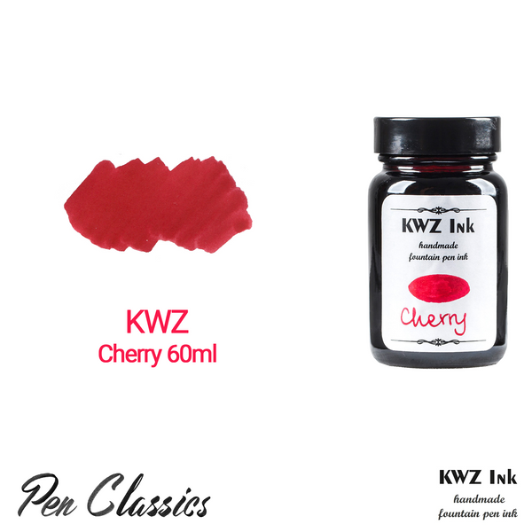 KWZ Cherry 60ml Bottle and Swab