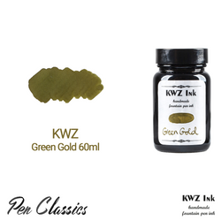 KWZ Green Gold 60ml Bottle and Swab