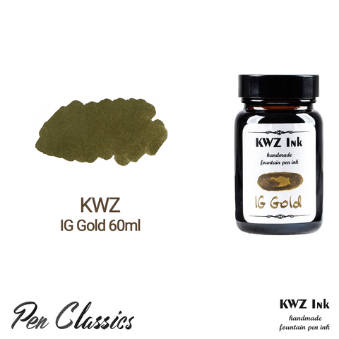 KWZ IG Gold 60ml Bottle and Swab