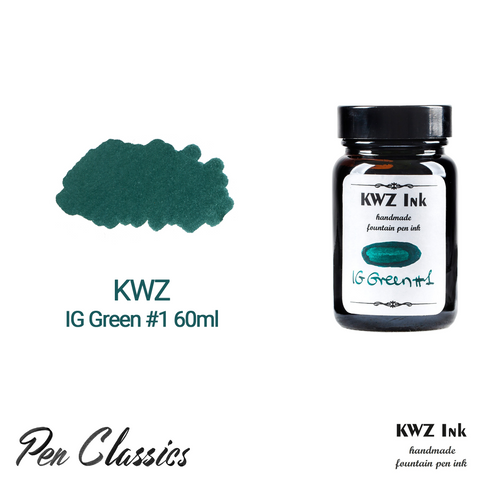 KWZ IG Green #1 60ml Bottle and Swab