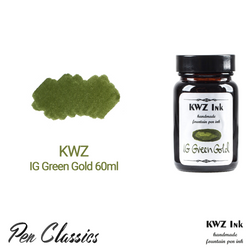 KWZ IG Green Gold 60ml Bottle and Swab