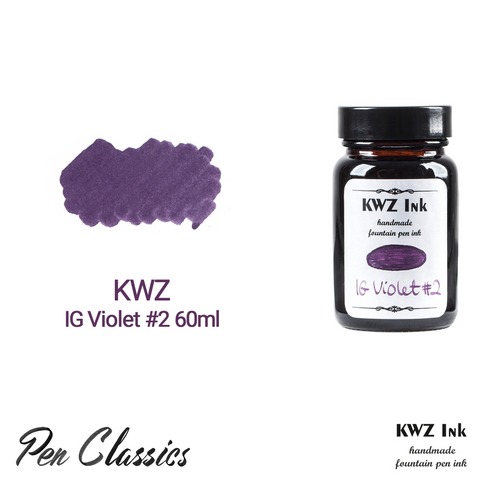 KWZ IG Violet #2 60ml Bottle and Swab