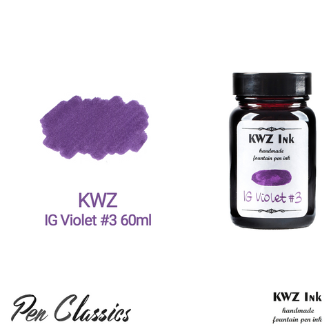 KWZ IG Violet #3 60ml Bottle and Swab